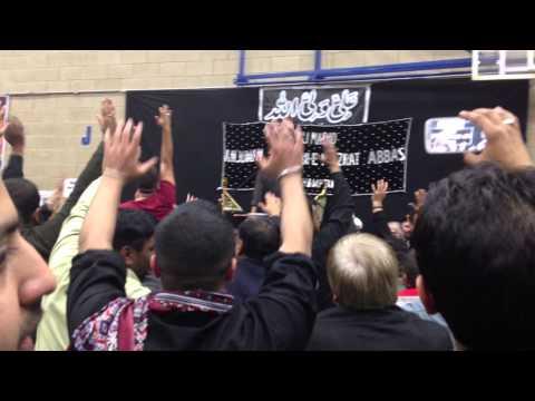 Shaukat  Raza Shaukat-faizal Ghazi Abbas (as) Northampton 2013 video