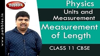 Measurement of Length : Units and Measurement | Physics | Class 11 | CBSE