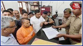 Yogi Adityanath's Next Move A Surprise Check At Lucknow Police Station