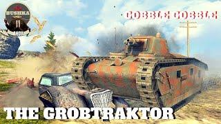 The GROBtraktor   World of Tanks Blitz Founders Pack