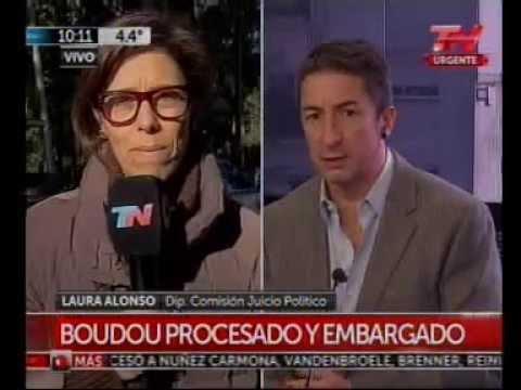 Laura Alonso sobre procesamiento a Boudou - TN
