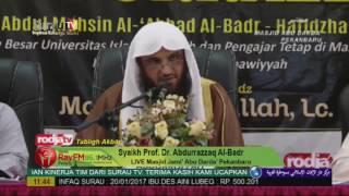 Syaikh Prof. Dr. Abdurrazzaq Al-Badr - Benarkah Umur Umat Islam Hanya 1500 Tahun?