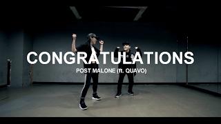 download lagu Congratulations -  Post Malone Ft. Quavo / Choreography gratis
