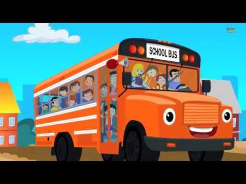 Wheels On The Bus Go Round And Round video