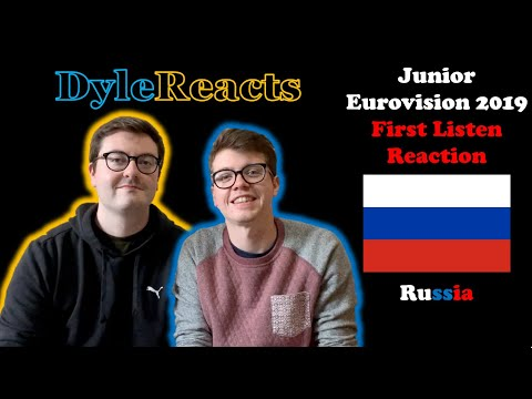 Junior Eurovision 2019 - Russia - REACTION #DyleReacts