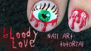 VALENTINE'S DAY 2019: Love and Gore Nail Art Tutorial