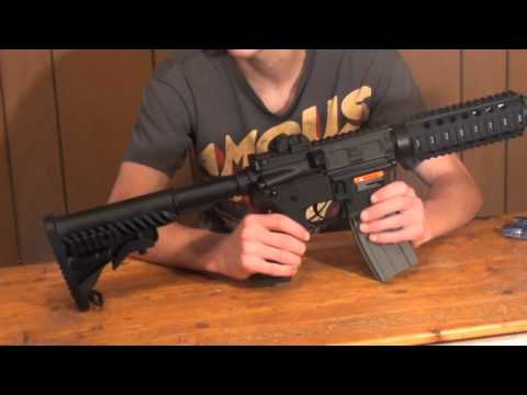 APS M4 CQB Electric BlowBack Airsoft AEG Review