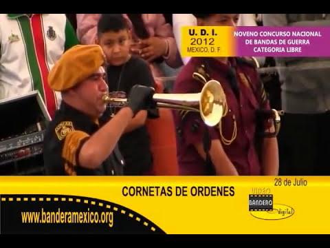 Cornetas de ordenes Calderon 2012.