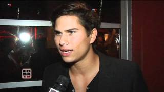 Raja Fenske Interview at Infusion Lounge Grand Opening on City Walk, Universal City