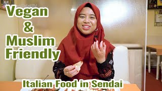 Vegan and Muslim Friendly Menu at Nobatte Italian Restaurant in Miyagi