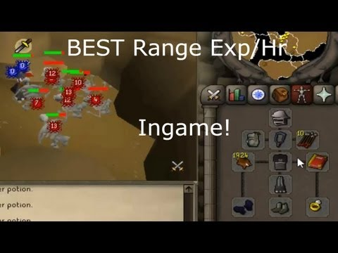 Runescape 2007 : Chinning Guide BEST Range exp-hr!