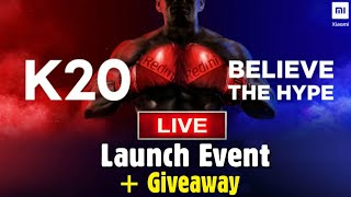 Redmi K20 Pro Launch Event & Giveaway