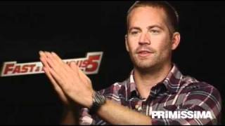 Intervista a Paul Walker protagonista di Fast & Furious 5