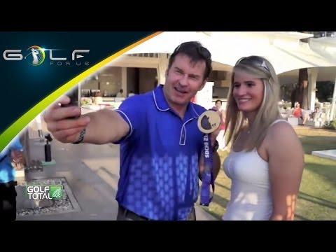 Golf - BMW World Final Geisenberger und Faldo (German)