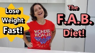 My FAB Diet to Lose Weight Fast & Stay Healthy in Lockdown!