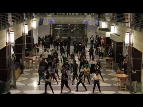 FLASH MOB - African Youth League at The Ohio State University