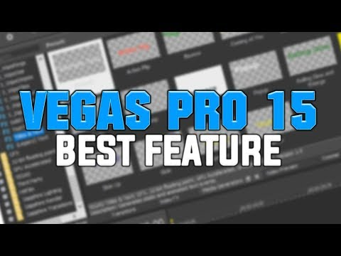 The BEST Feature in Vegas Pro 15?!