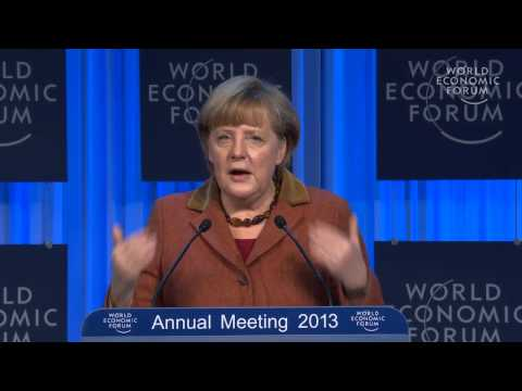 Davos 2013 - Special Address by Angela Merkel, Federal Chancellor of Germany