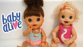 BABY ALIVE Morning Routine With Ruby Snow & Pumpkin!