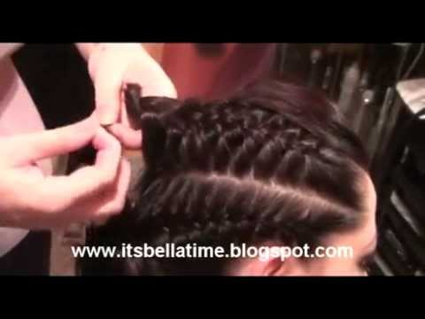 Braided hair,casual hairstyle / Fonott haj, alkalmi frizura