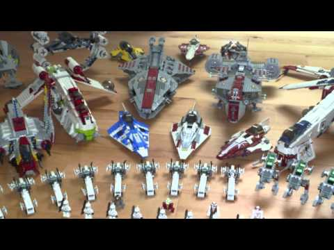 my lego star wars clone-. empire-and droid army