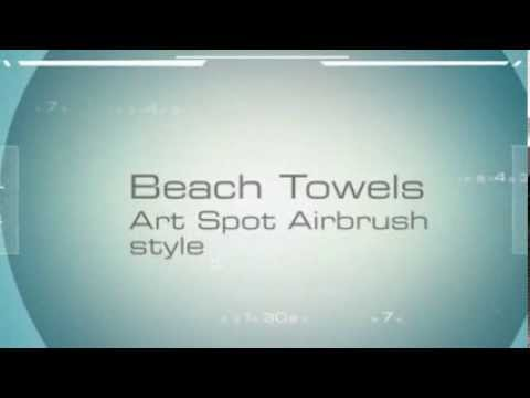 Art Spot Airbrush Beach Towels