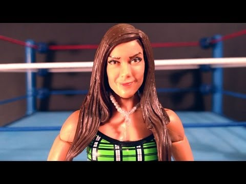 AJ LEE WWE Elite Collection Series 21 Action Figure Review!