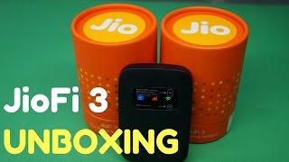 JioFi 3 Unboxing in Hindi | JIO 4G