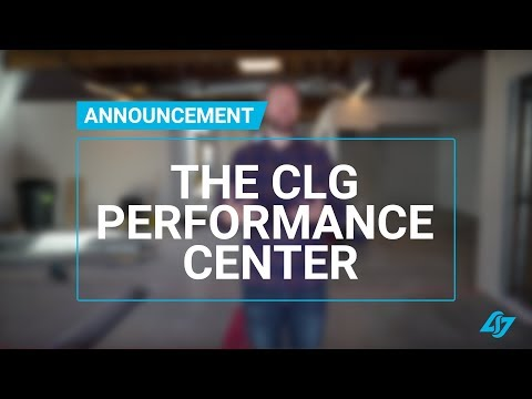 Introduction - The CLG Performance Center | Official Announcement