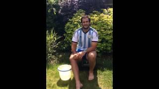 El Chipi Figallo se sumó al Ice Bucket Challenge