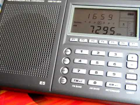 Traxx FM Malaysia 7295 kHz received in Germany
