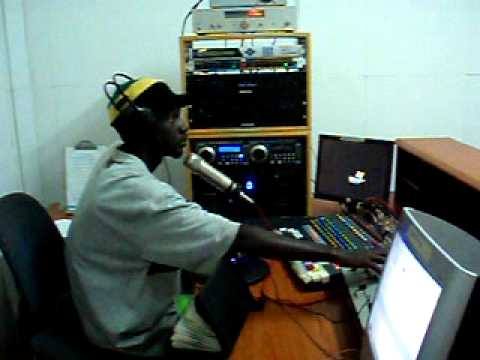Bob Marley Sons In KTT Radio Gambia
