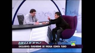 [Parte 2] Entrevista de Guilherme de Pádua ao Ratinho no SBT