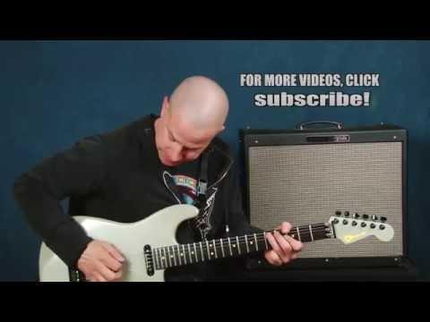 Hard Rock guitar lesson John Sykes Doug Aldrich inspired pinch harmonics vibrato cool pattern licks