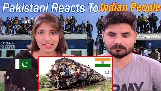 Pakistani Reacts To Indian People | This Happens In India !! Crazy People on Roof Of Train