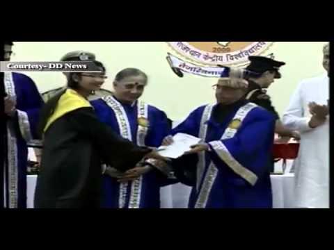 President Pranab Mukherjee at Malviya NIT, Jaipur