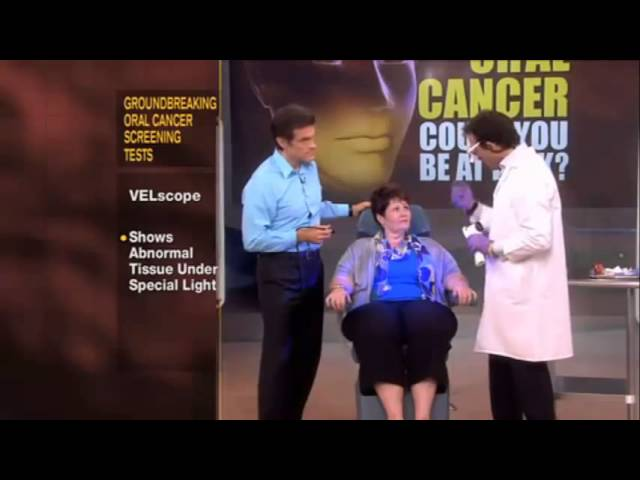 dr oz velscope from Dr Terry Hopper DMD