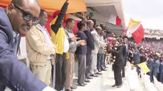 Welcome Ceremony for Mekelle City fc. and welwalo fc.