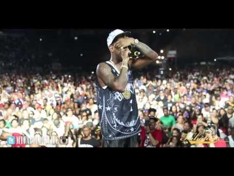 Fabolous and Friends Perform at Summer Jam XX Brings Out Chris Brown, Meek Mill, Pusha T, Lil Kim