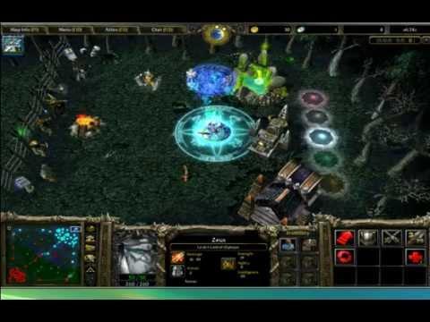 วิธีการเข้าเล่น dota / Warcraft III วินโดว์โหมด