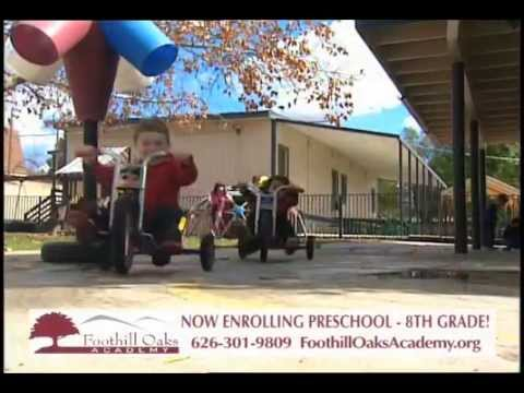 FOA TV promo  Foothill Oaks Academy