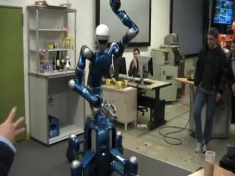 Humanoid robot Justin dances Pulp Fiction song