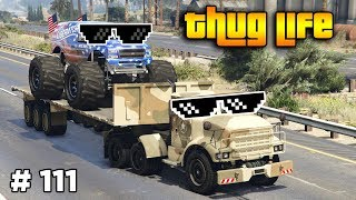 GTA 5 ONLINE : THUG LIFE AND FUNNY MOMENTS (WINS, STUNTS AND FAILS #111)