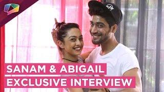 Sanam and Abigail talk about their Love Story and Nach Baliye   Nach Baliye 8   Star Plus