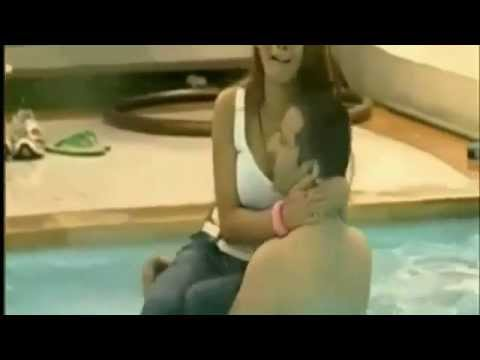 Veena Malik taking bath in swimming pool in Big Boss - YouTube...