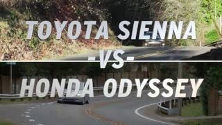 Toyota Sienna vs Honda Odyssey - AutoNation