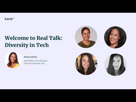 Karat presents Real Talk: Diversity in Tech, Women in Tech