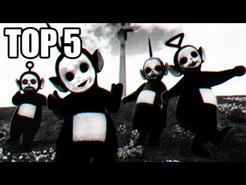 TOP 5 - Děsivých Momentů z Filmů a Pořadů pro Děti