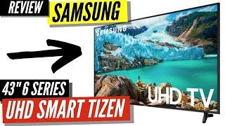 """Samsung 43"""" Class 6 Series LED 4K UHD Smart Tizen TV"""