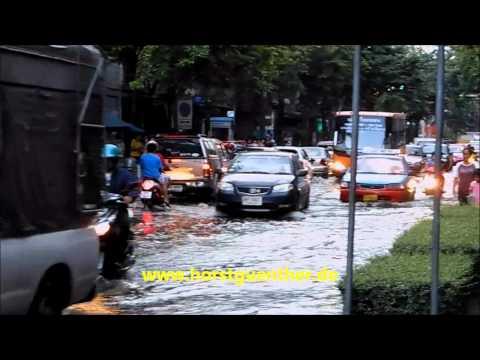 Hochwasser in Bangkok 25.10.2011
